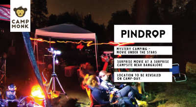 Pindrop: Movie Under the Stars - Mystery Camping