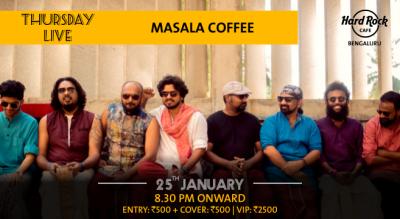 Masala Coffee - Thursday Live!