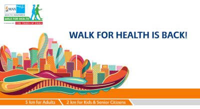 Max Bupa Walk for Health, Delhi