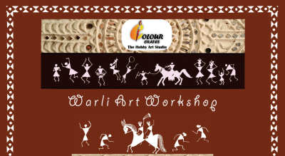 Warli Designed Clock Making