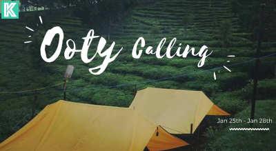 Ooty Calling