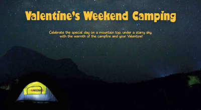 Valentine's weekend Camping