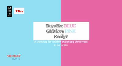Boys like BLUE,Girls love PINK.Really?