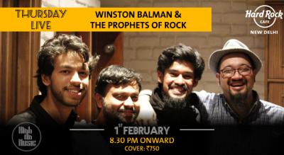 Winston Balman & The Prophets of Rock - Thursday Live!
