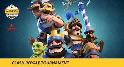 GamingMonk Clash Royale Tournament, Delhi