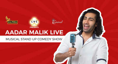 LVC Presents Aadar Malik Live - A Musical Stand Up Comedy Show