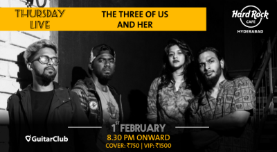 The Three Of Us and Her - Thursday Live!