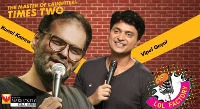 Kunal Kamra & Vipul Goyal LIVE