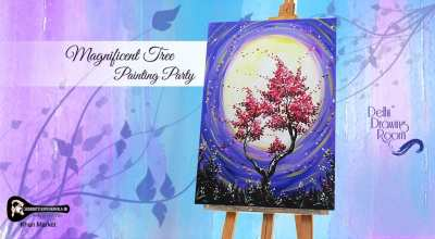 Magnificent Tree Painting Party