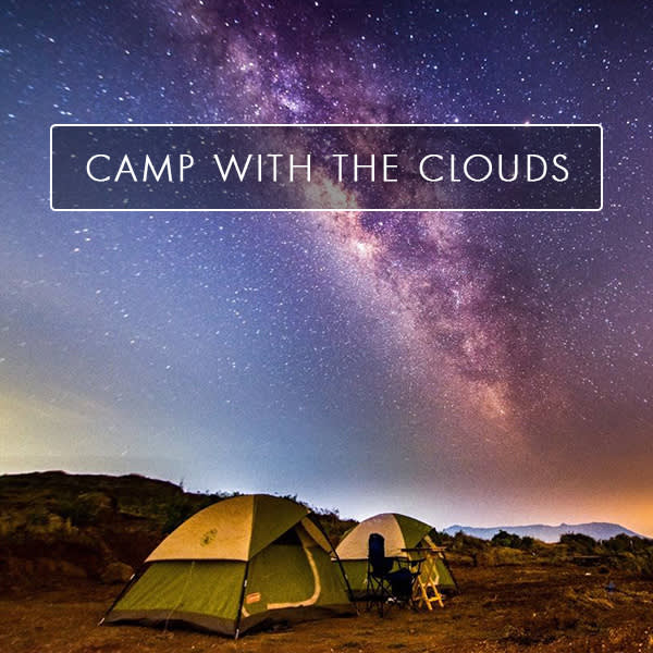 Camp With The Clouds