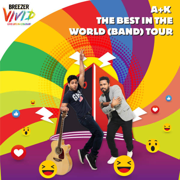 Breezer Vivid A+K The Best in the World (Band) Tour