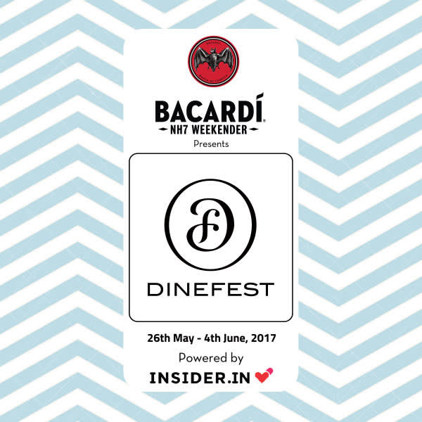 DineFest: 26th May - 4th June, 2017