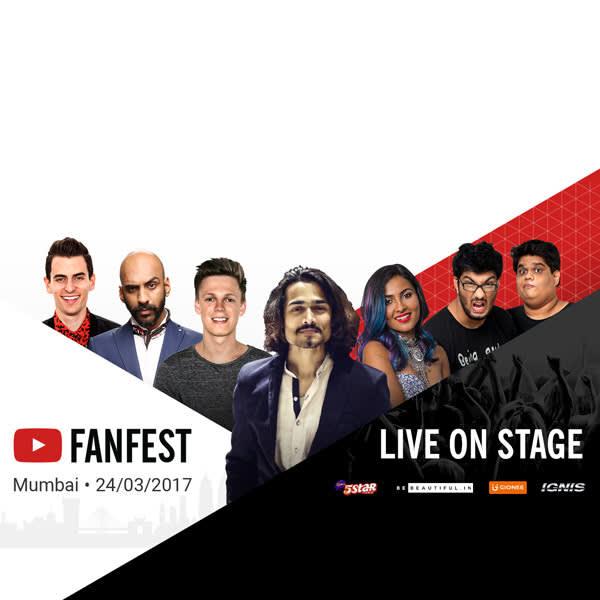 YouTube FanFest India 2017