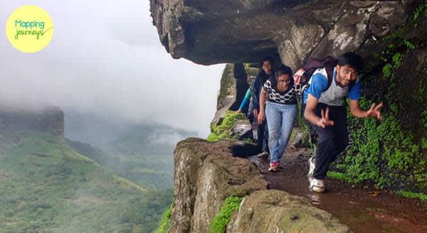 A triangular fort: Harihargad
