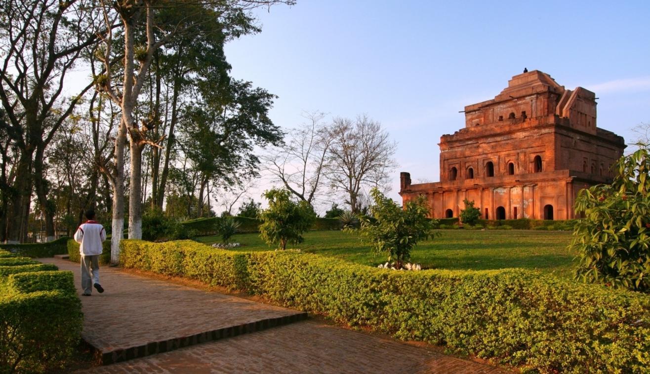 The Garhgaon Palace (Kareng Ghar, Ahom Raja's Palace), Garhgaon