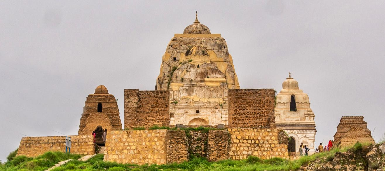 Ruined Buddhist Stupa