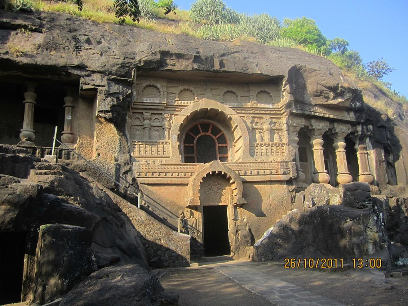 Nasik Caves (Pandavleni Caves, Pandu Lena, Pandu Caves or Trirashmi Leni), Nashik