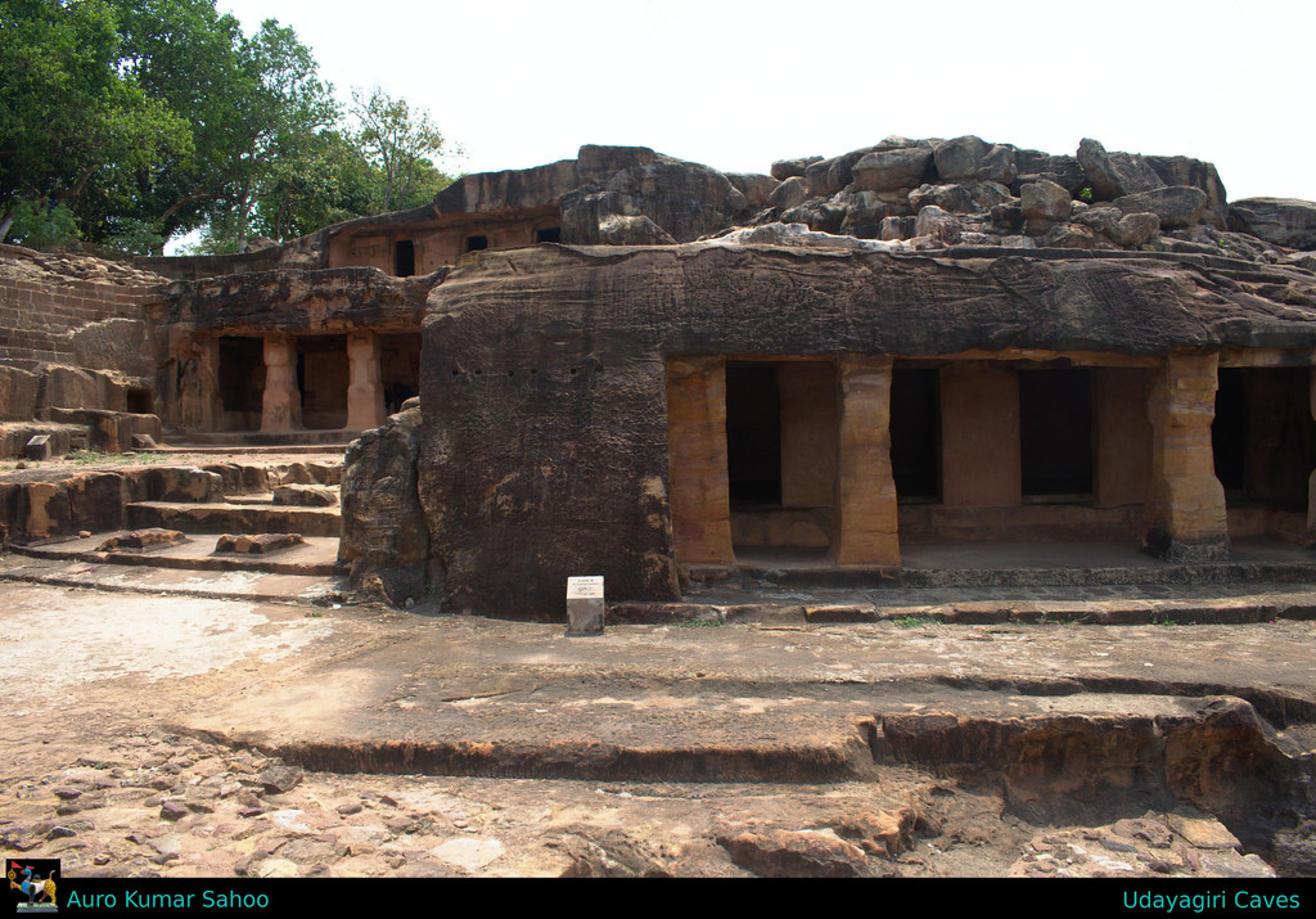 Udayagiri and Khandagiri Caves (Kattaka Caves or Cuttack Caves), Bhubaneswar