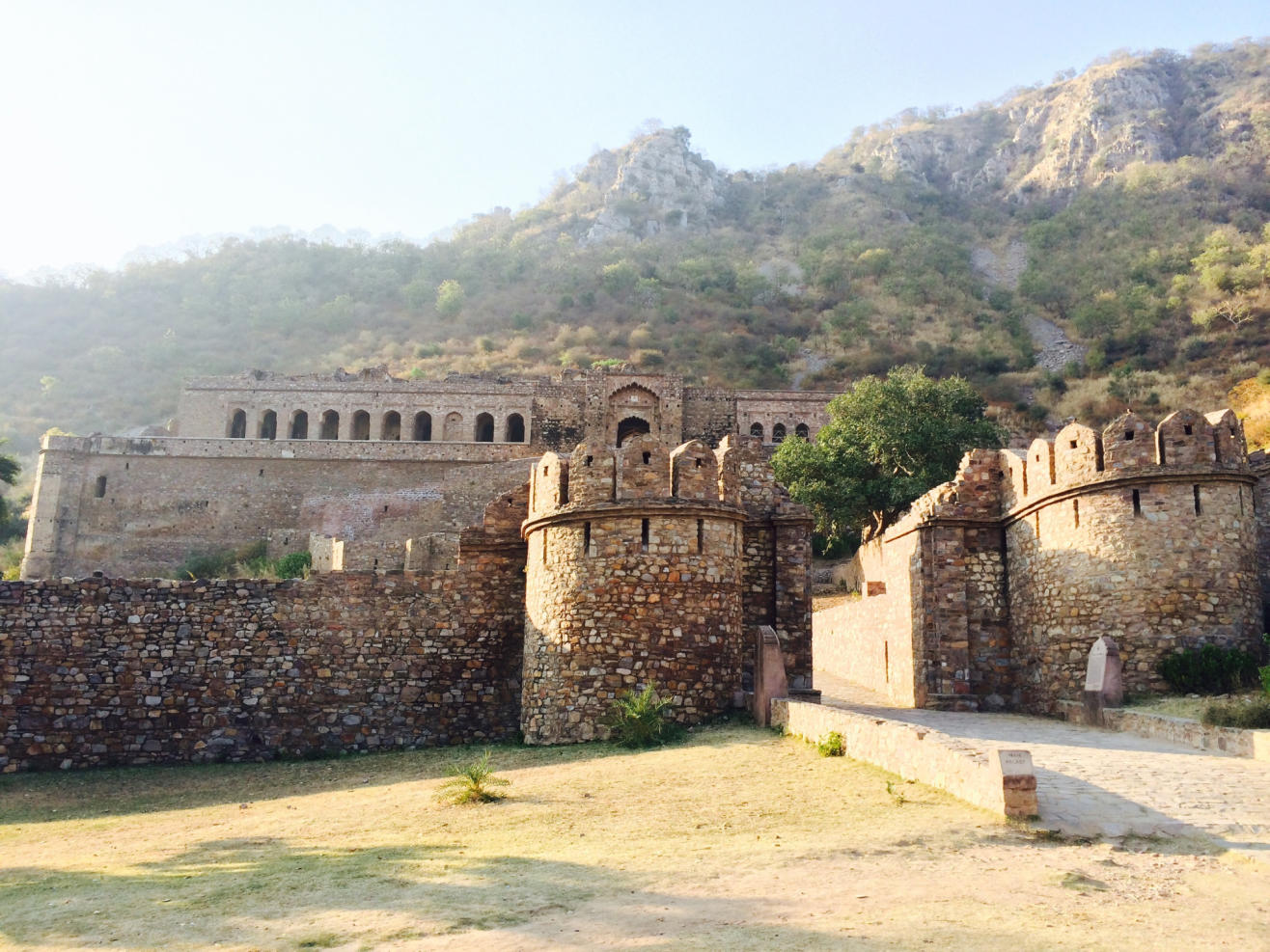 Bhangarh Fort and Ancient Site, Bhangarh