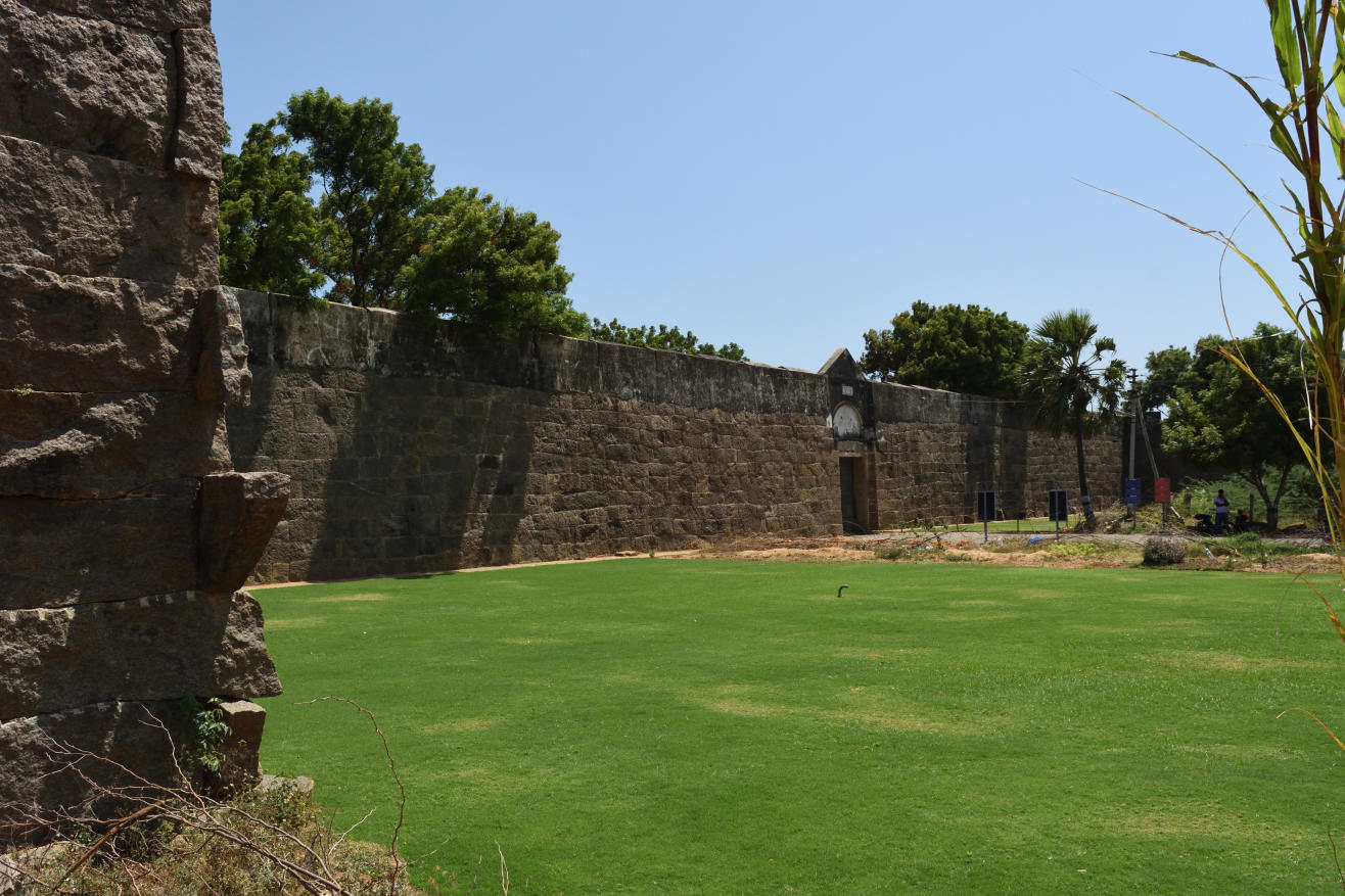 Vattakottai Fort (Circular Fort), Kanyakumari