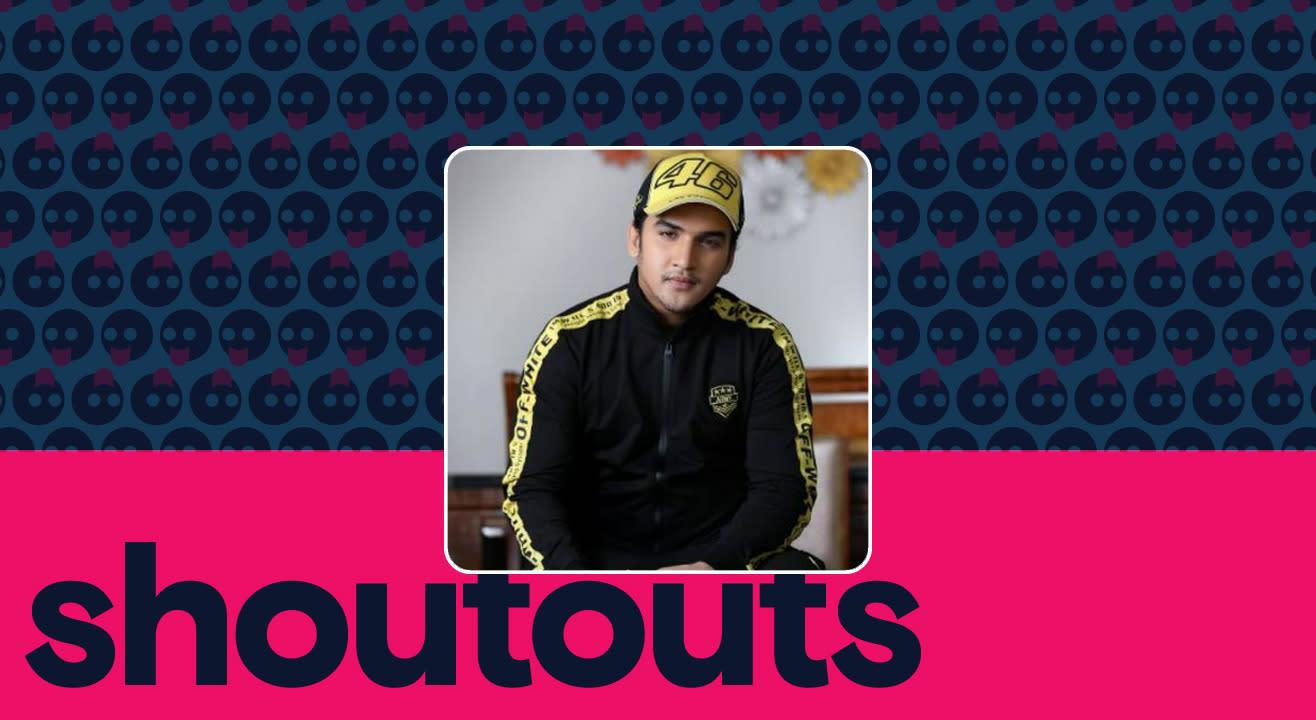 Request a shoutout by Faisal Khan