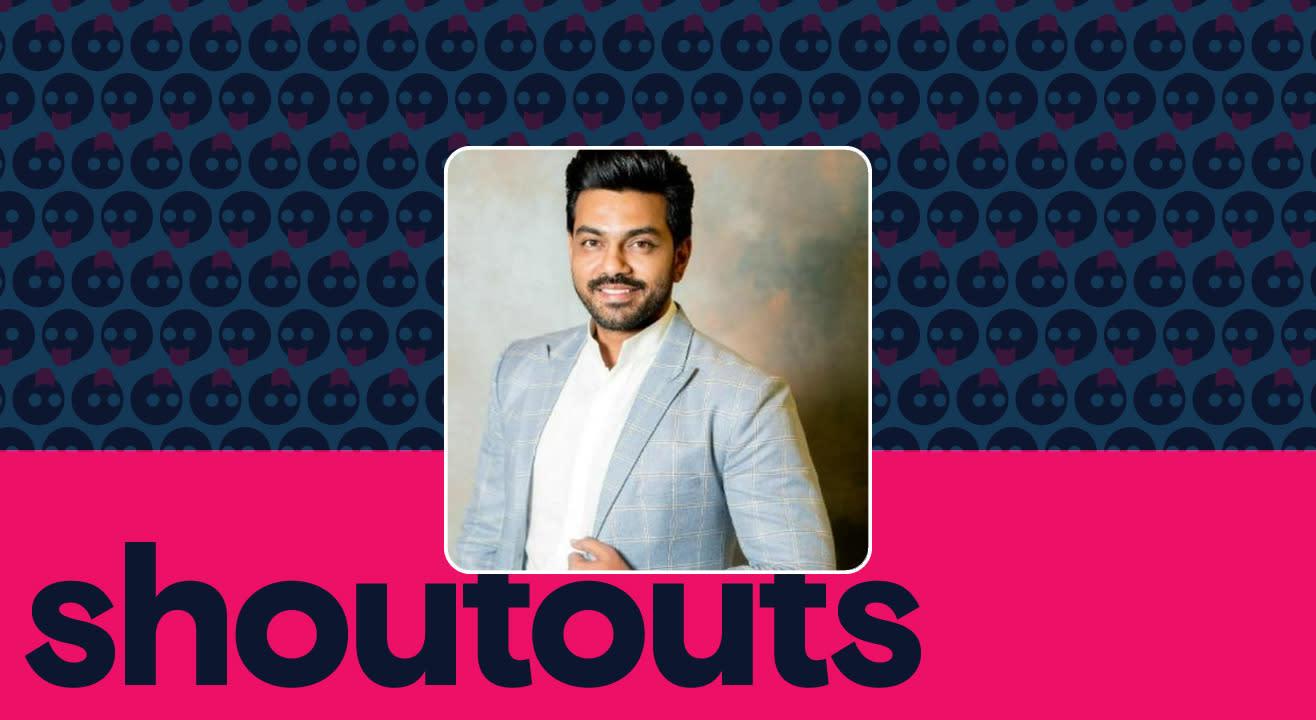 Request a shoutout by Arjun Ambati
