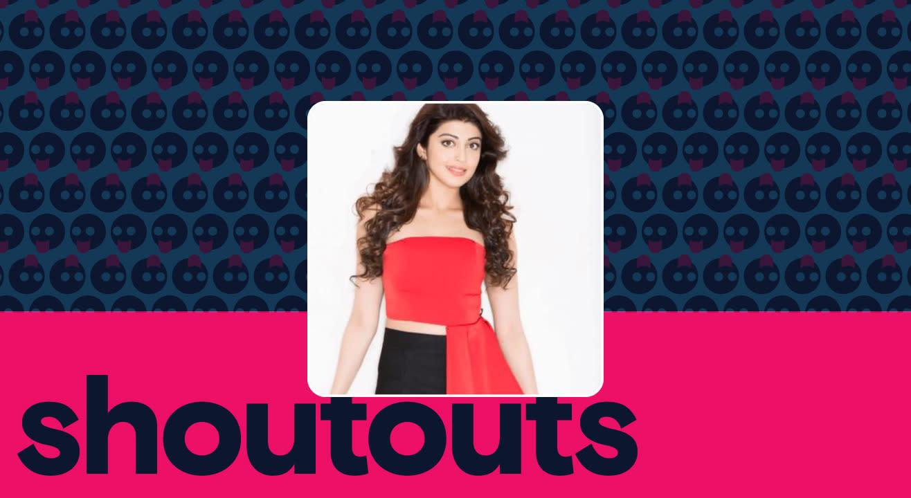 Request a shoutout by Pranitha Subhash