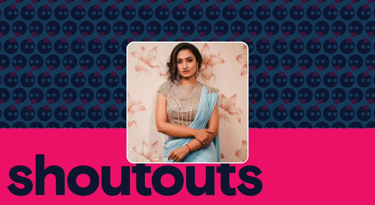 Request a shoutout by Vaishnavi