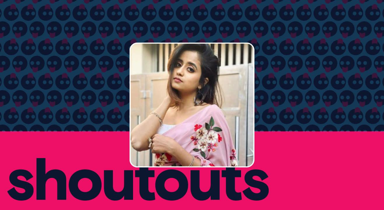 Request a shoutout by Chaitra Vasudevan