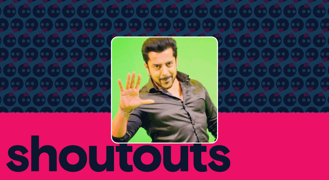 Request a shoutout by Salman Khan Junior