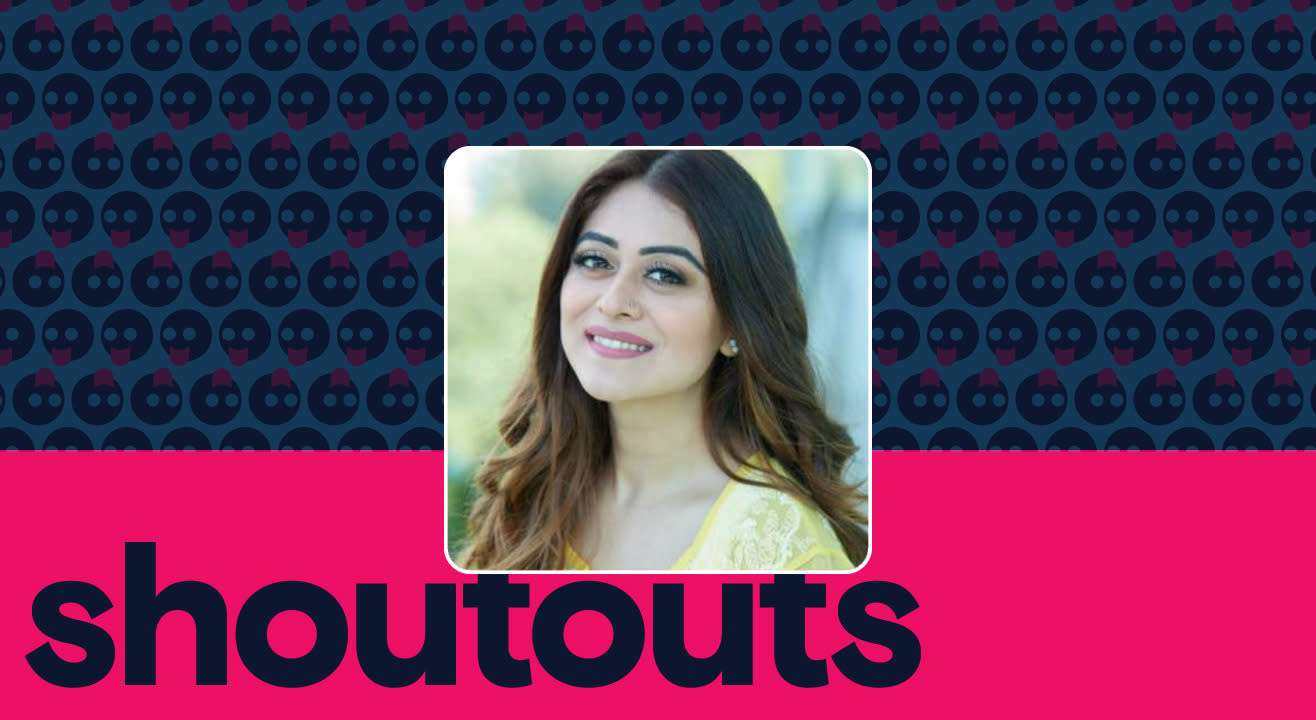 Request a shoutout by Falaq Naaz