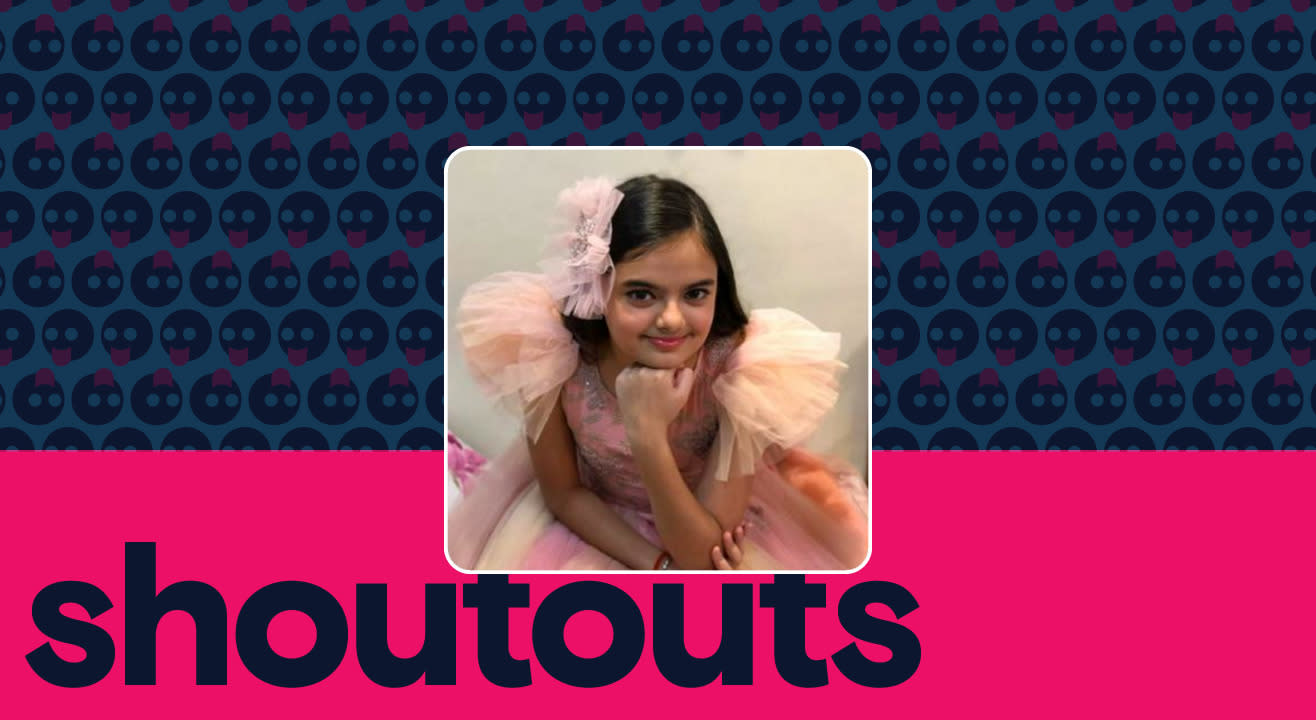 Request a shoutout by Ruhaanika Dhawan