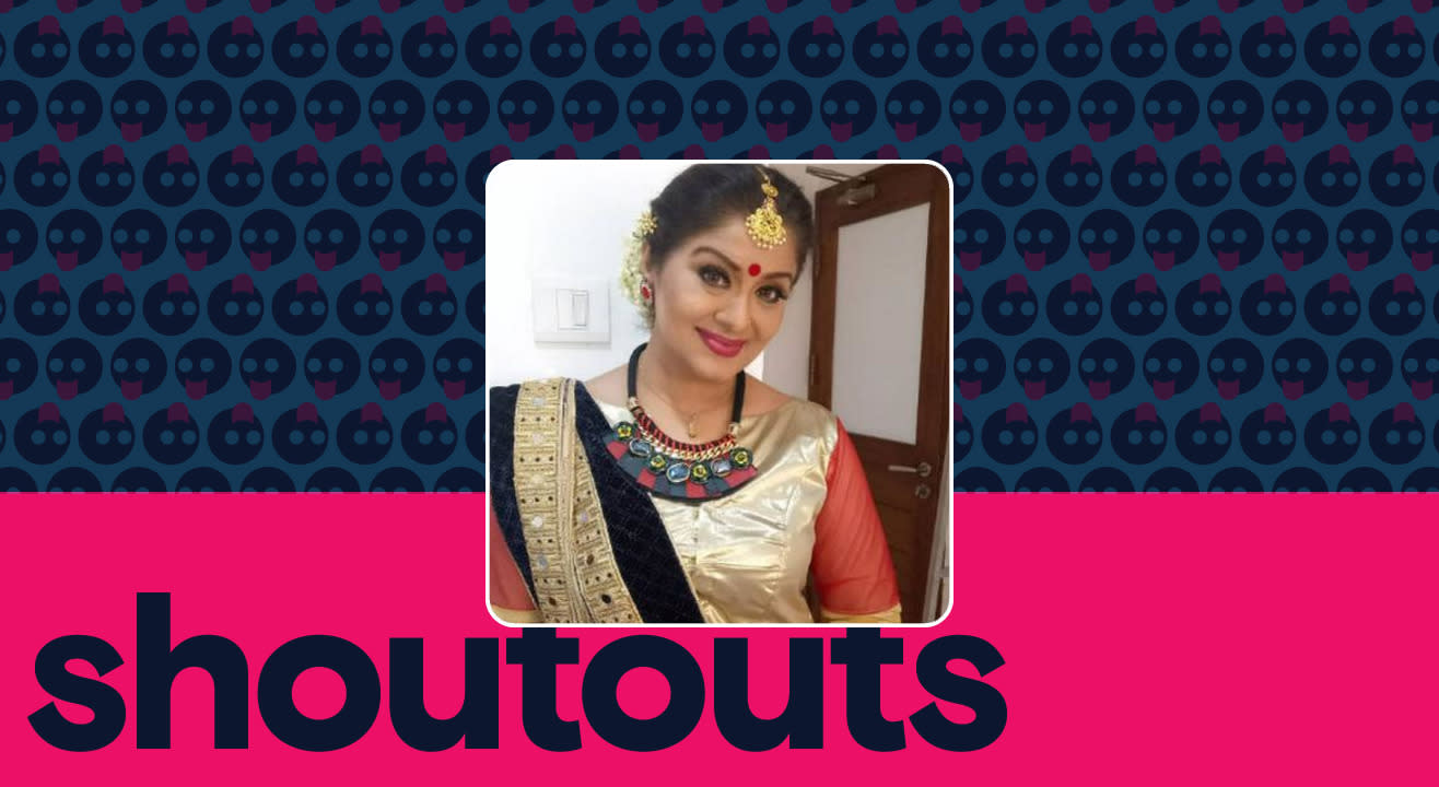 Request a shoutout by Sudha Chandran
