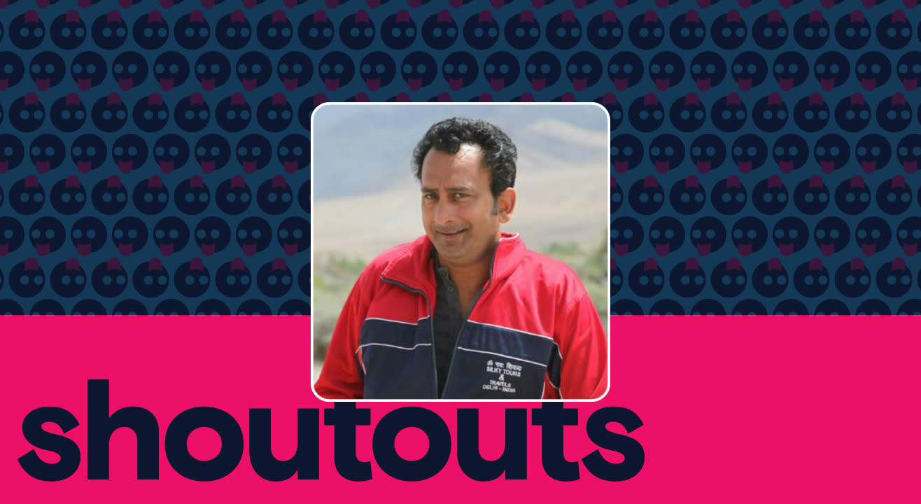 Request a shoutout by Hemant pandey