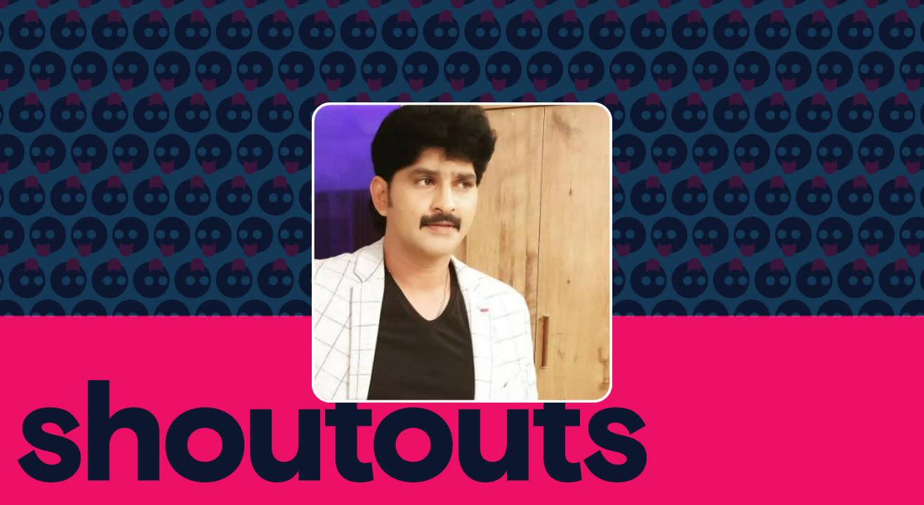 Request a shoutout by Ravi Kiran