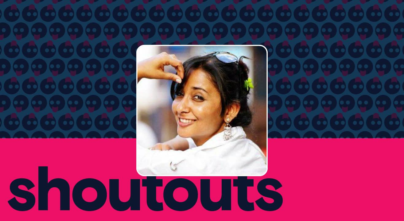 Request a shoutout by Shruti Panwar