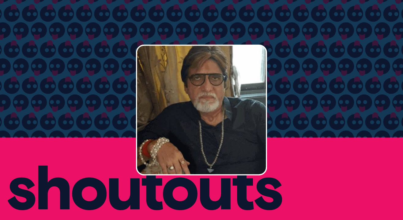 Request a shoutout by Junior Amitabh