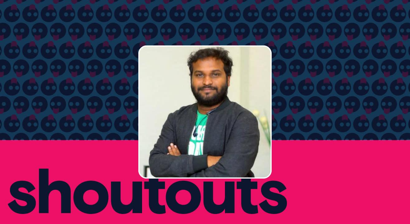 Request a shoutout by Racha Ravi