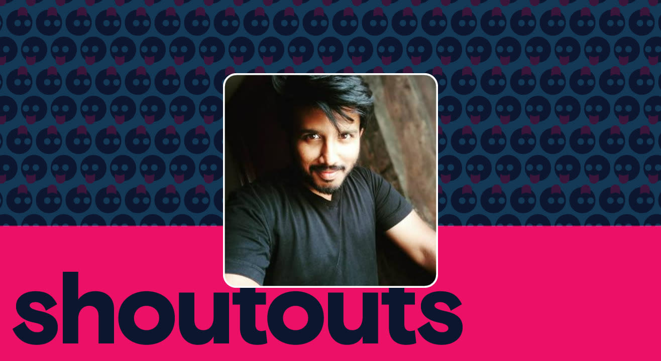 Request a shoutout by Dinesh