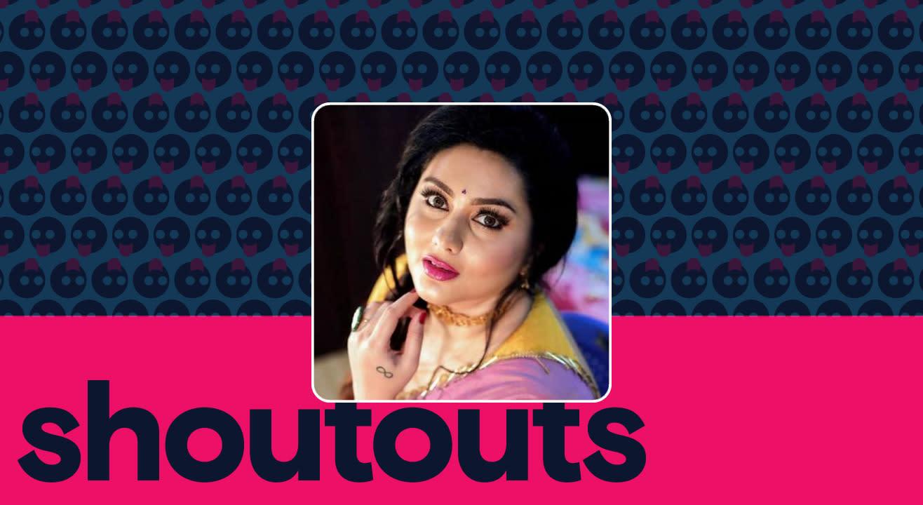Request a shoutout by Namitha
