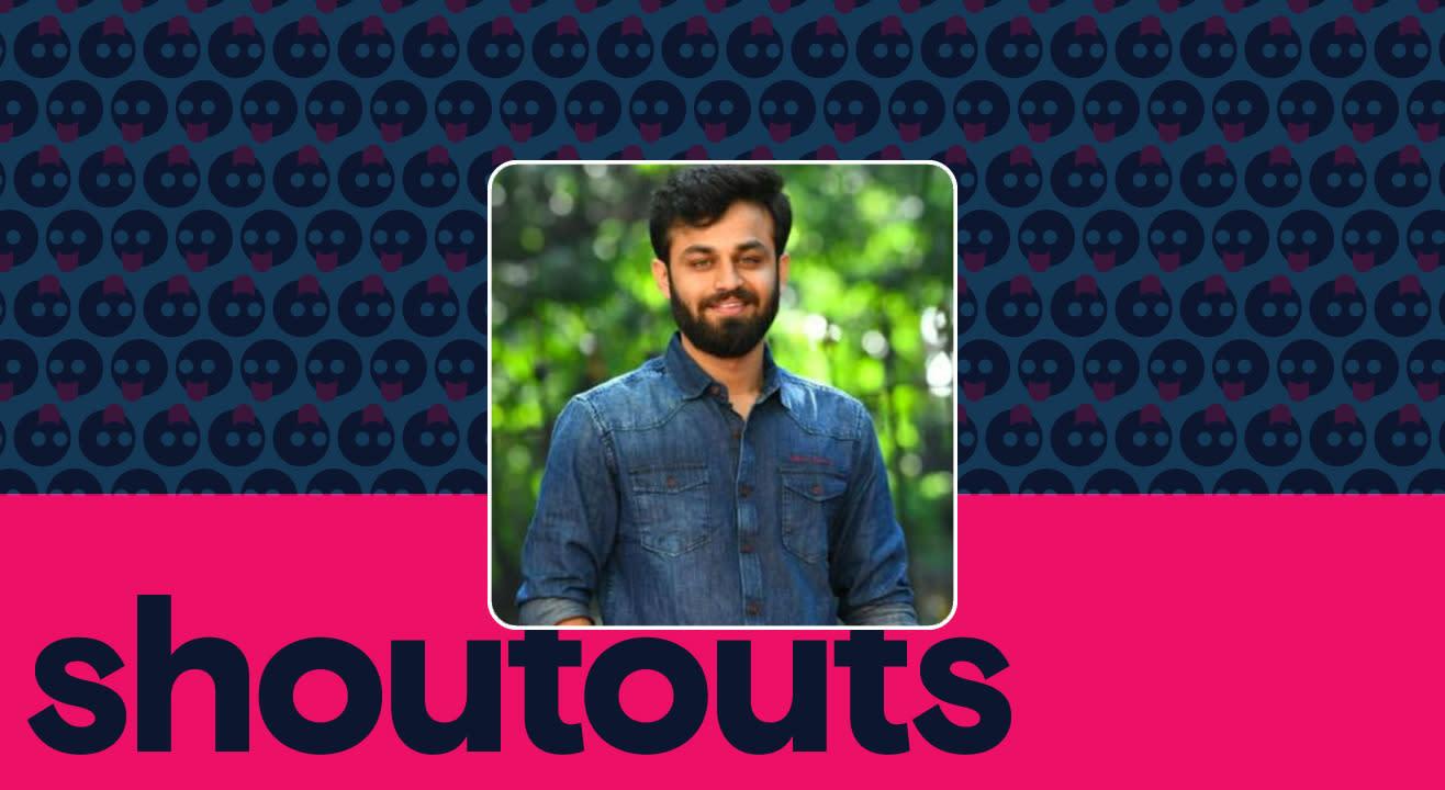 Request a shoutout by Shashi Kumar
