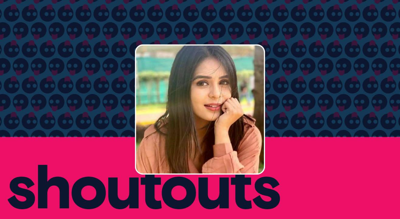 Request a shoutout by Sonal Vengurlekar
