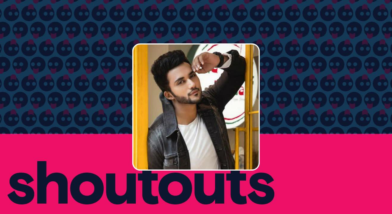 Request a shoutout by Zuber K Khan