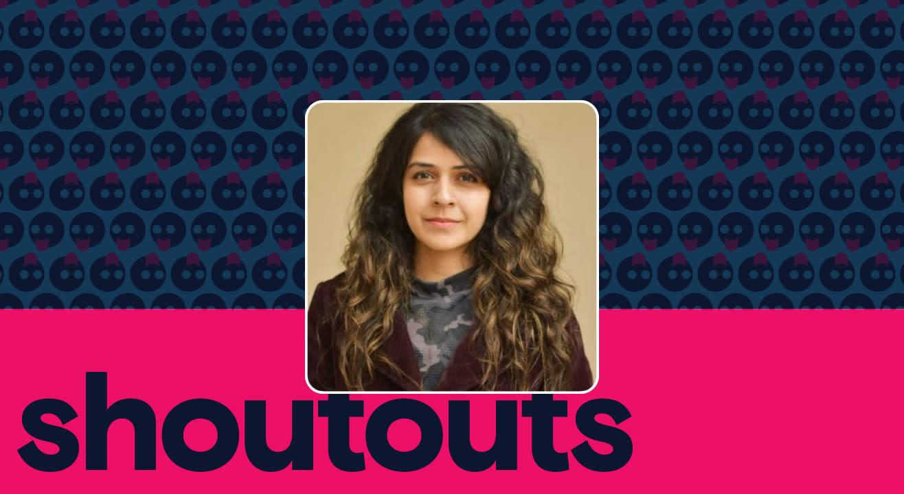Request a shoutout by Neha Pawar