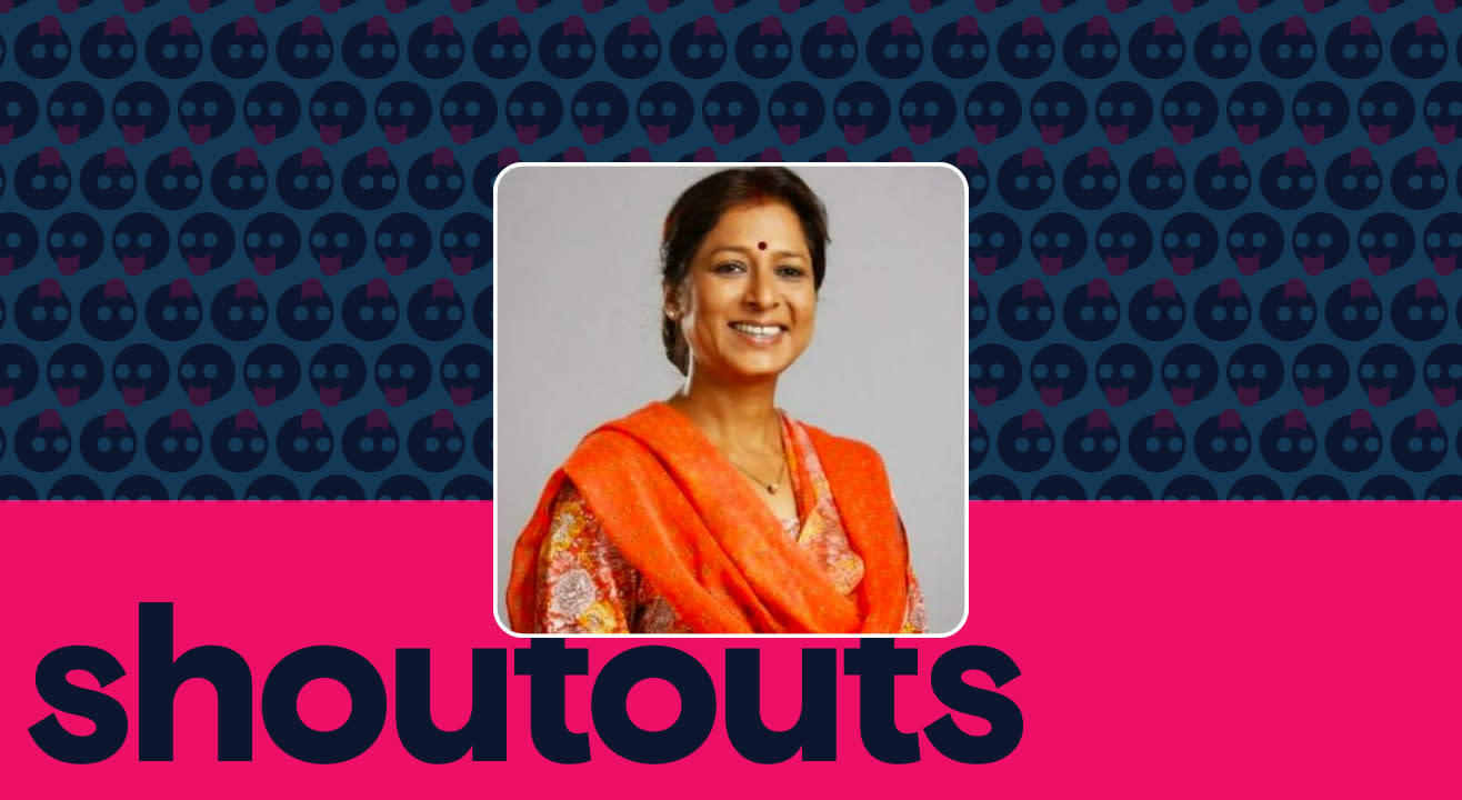 Request a shoutout by Alka Amin