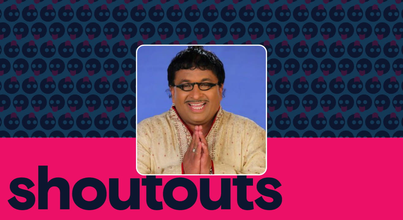 Request a shoutout by Anup Upadhyay