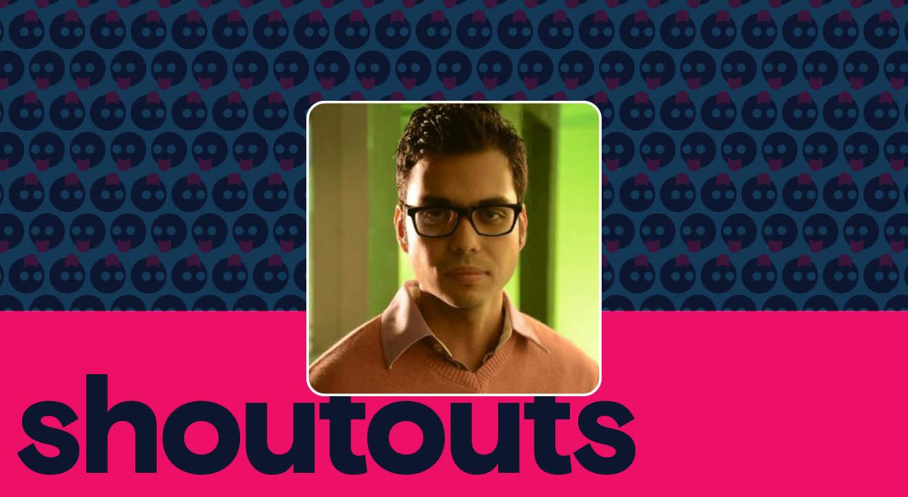 Request a shoutout by Mark Parakh