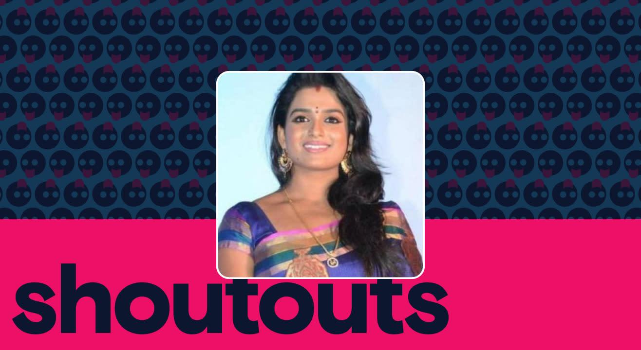 Request a shoutout by Sreevani