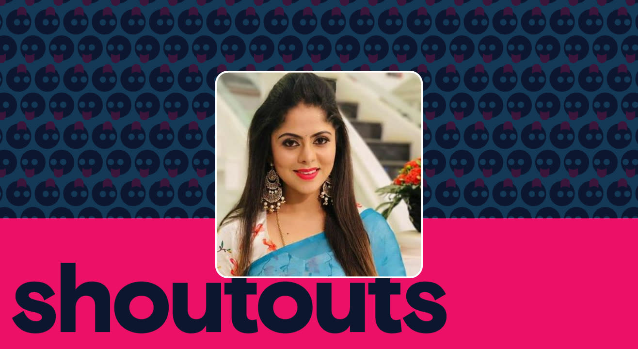 Request a shoutout by Sharmitha Gowda