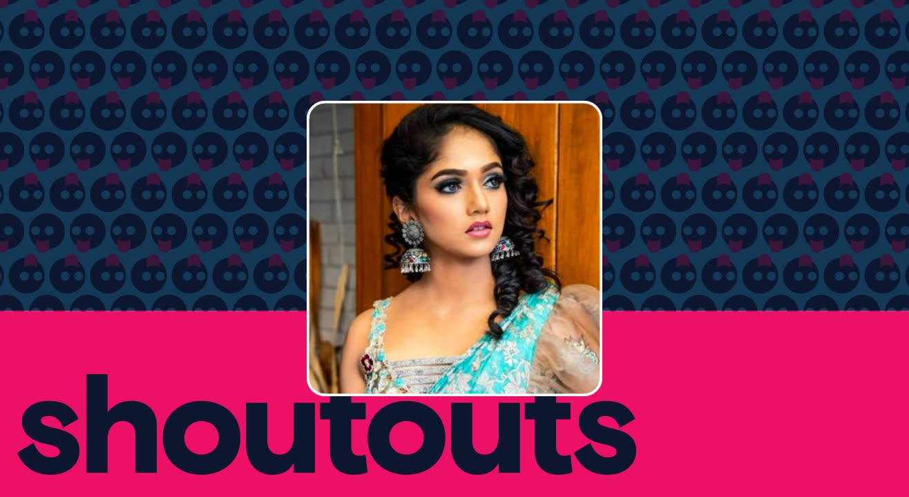 Request a shoutout by Bhavya Gowda